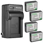 Kastar Battery Wall Charger for Canon LP-E10 LC-E10 & Canon EOS Rebel T6 Camera