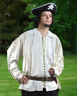 Renaissance Medieval Metal Loop Country Shirt
