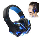 Gaming Headset Stereo Surround Headphones 3.5mm Wired Earphones With Mic For PC