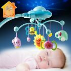 Baby Rattle Infant Toys For 0-12 Months Crib Mobile Bed Bell With Music And Sky