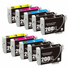Reman 200 XL 200XL Black &Color Ink Cartridge For XP-210 XP-310 XP-410 WF-2540