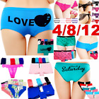 Внешний вид - Women Panties Underwear Bikini Lace Cotton Thong Briefs Shapewear Body Shaper US