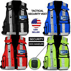NEW Hi Viz Tactical Vest Security Enforcement CCTV Dog Handler Top Quality