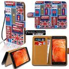 For Various BQ Aquaris SmartPhones Leather Smart Stand Wallet Case Cover