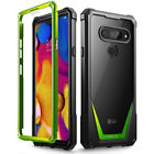 LG V40 ThinQ Case Poetic [Hybrid] Clear TPU Bumper Shockproof Cover