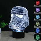 Star Wars Storm Clone Trooper 3D LED Night Light Touch Switch Table Desk Lamp $18.0 USD on eBay
