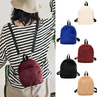 Convertible Faux Fur Small Mini Backpack Rucksack Shoulder bag Purse Cute