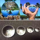 Clear Glass Ball Crystal Healing Ball Photography Lens Ball Sphere Decoration