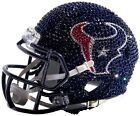 NEW NFL Mini Helmet Made with Swarovski� Crystals and Case - ANY TEAM! OBO