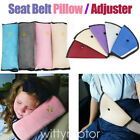 2XCar Seat Belt Pillow Safety Belt Pad Harness Shoulder Headrest Protector Kids