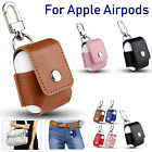 Strap Holder Leather Case Cover For Apple Airpod Air Pod Accessories Airpods