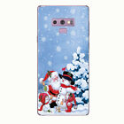 For Samsung Note 9 S5 S6 S9 Xmas Ultrathin silicone Shockproof Soft Case Cover