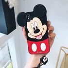 New Hot Cute 3D Cartoon Lanyard Soft Silicon Phone Case Cover For Various Phones