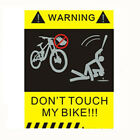 Mountain Bike Frame Stickers Bicycle Decals Warning Stickers Cycling Equipment