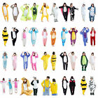 Unisex Adult Pajamas Unicorn Kigurumi Cosplay Costume Animal Sleepwear