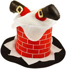 Novelty Christmas Party Hats Adult Funny Work Office Mens Womens Xmas Plush 3D