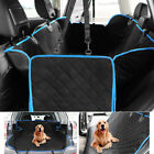 Non Slip Pet Dog Car Seat Cover Waterproof Hammock SUV Back Rear Bench Protector