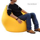 Unfilled Lounge Bean Bag Home Soft Lazy Sofa Cozy Single Chair Durable Furniture
