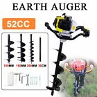 Kyпить 52CC Gas Power Earth Auger Engine Post Hole Digger 4