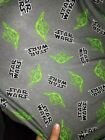 Star Wars Elastic Knitted Fabric - Master Yoda toss - 100% Cotton 160cm Wide $9.16 CAD on eBay
