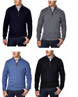 Kirkland Signature Men's Merino Wool 1/4 Zip Semi-Fit Sweater only Gray, Black