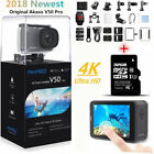 2018 AKASO V50 Pro HD 4K 20MP WiFi Action Camera LCD Touch Screen + 32G SD Card