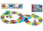 Flexible Variable Magic Racing Race Car Track Set Kids Toy Game Light 128-257 Pc