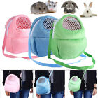 Pet Carrier Hamster Carry Pouch Warm Portable Safety Bag Travel Cage Outgoing US