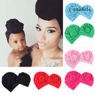 Kyпить 2Pcs Mom Mother Baby Child Warm Twist Knot Turban Cap Kids Boys Girls Beanie Hat на еВаy.соm