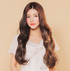 Nine-tenths Wig Natural Giselle Long Wave made by Korea with Free Gift Free Ship