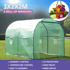 4 Size Walk-in Greenhouse Polly Tunnel Patio Garden Outdoor Polytunnel Frame <br/> High Light Transmittance✔140g PE Cover✔