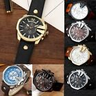 Curren 8176 Men Leather Band Strap Watch Mechanical Relogio Masculino Watch CN image