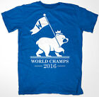 Chicago Cubs 2016 World Series Champions 'FLY THE W' T shirt Champs on Ebay