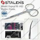 New Staleks Expert SE-50/3 22 mm Professional cuticle scissors  cuticle pusher