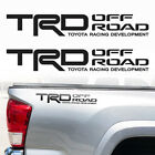 Tacoma Tundra Toyota TRD Truck Off Road Sport Decals Stickers Decal Vinyl 18x3