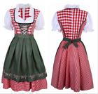 Women Dress Oktoberfest German Bavarian Beer Maid Cosplay Costume Fancy Dress US