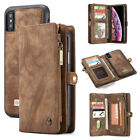 Apple Samsung Leather Removable Wallet Magnetic Flip Card Case Cover Skin USCC $7.59 USD on eBay