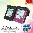 63XL Ink Cartridge Set for HP ENVY 4512 4520 OfficeJet 3830 4650 5200 5220 5255