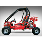 New 110cc Pre-Teen Go Kart 2-Seater Gas Powered Off-Road for Kids and Youths