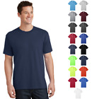 Tall Cotton T-Shirts Blank Solid Short Sleeve Unisex Tee Color Comfort New PC54T