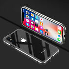 Hot Magneto Magnetic Adsorption Metal Case For iPhone X XS Max XR 6 7 8 Plus