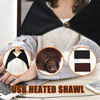 Winter Soft Heated Shawl USB Powered Electric Warming Heating Blanket Pad Ardent