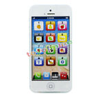 Kids Mobile Phone Toy Fun English Learning Education LED Chargeable Machine New