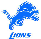 Detroit Lions Logo NFL Vinyl Decal Sticker + BOGO on eBay