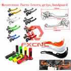 Dirt Bike Clutch Brake Levers 22/28MM Guards Handguard Protectors Handlebar Grip for sale  Shipping to South Africa