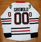 New Mens USA Clark Griswold 00 Christmas Vacation Movie Hockey Jersey Stitched
