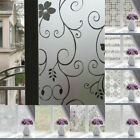 Waterproof Glass Frosted Bathroom Window Decal Self-adhesive Film Wall Sticker