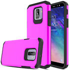 For Samsung Galaxy A6 Case Hybrid Shockproof Protective Armor Hard Phone Cover