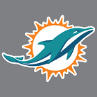 Miami Dolphins Vinyl Sticker / Decal * NFL * AFC * East * Football * Florida * $8.0 USD on eBay