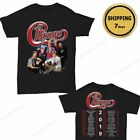 Chicago The Band Concert Tour 2019 T-Shirt full size Men tee Shirt Black image